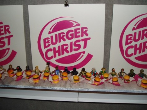 burger christ picture