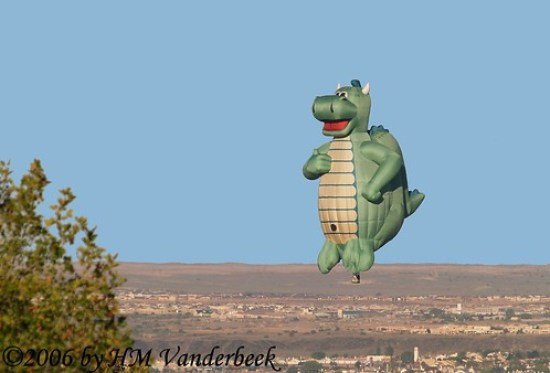 Gator Balloon