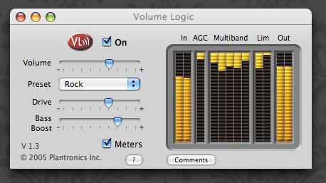 VolumeLogic returns!