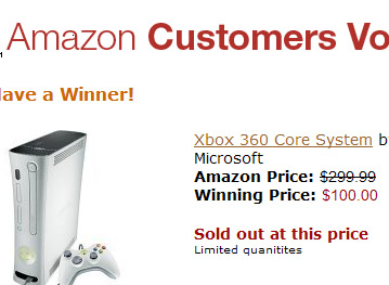 Amazon.com's Xbox promo sale sold out!