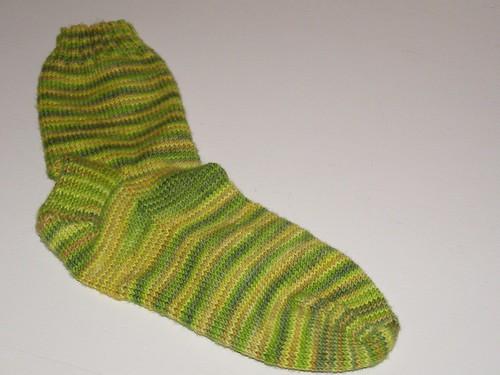 Lemongrass sock #1
