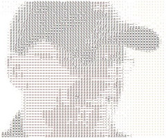 ASCII ME (Color) (by Brian Sawyer)