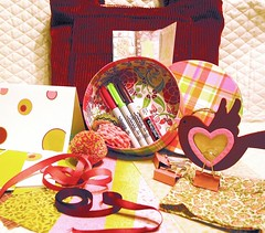 Color-iffic Swap-o-rama November: Candy Pink, Burgundy, and Apple Green