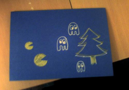 Pacman Card