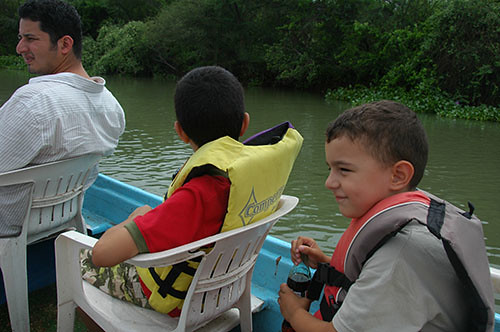 El Fuerte River Trip - On the Boat