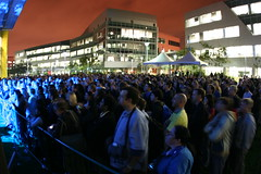 Crowd at Yahoo