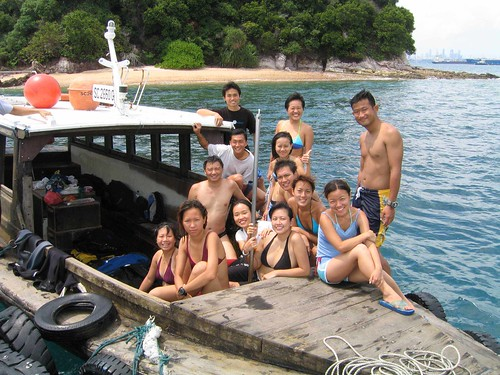 Reef Friends survey at Pulau Jong