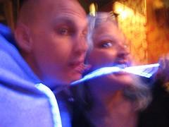 Neon dancing på Cozy Bar
