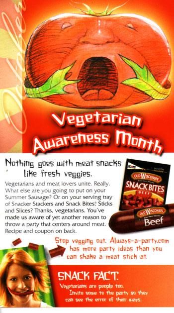 Vegetarian Awareness