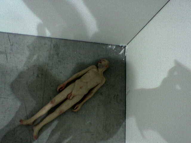 Naked little man