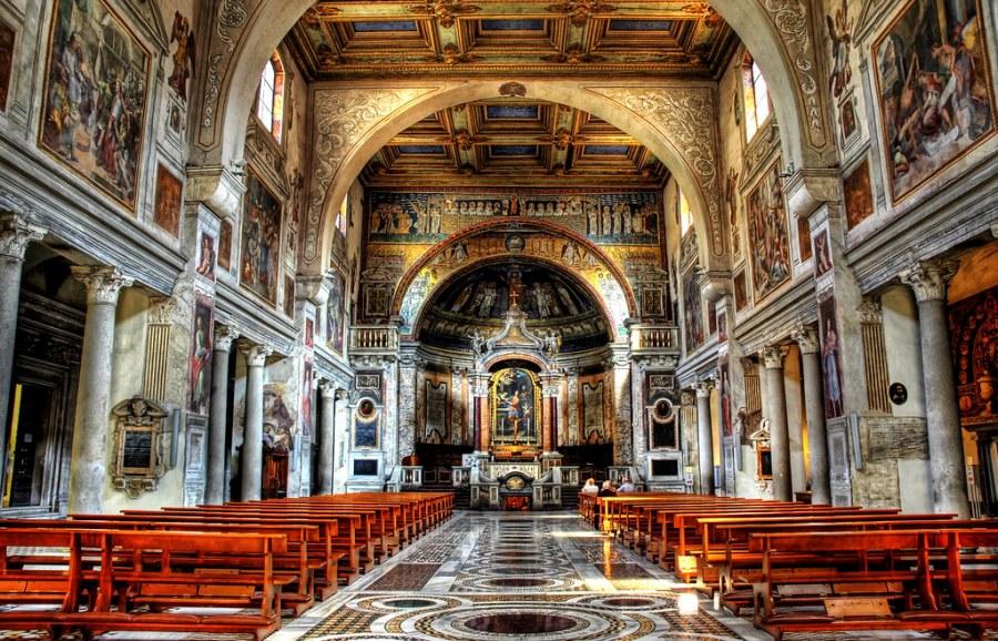 Alone in the Church