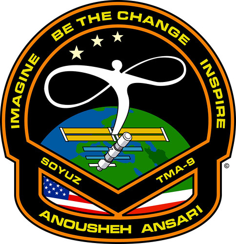 Anousheh Ansari Spacesuit Patch