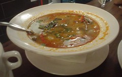 [吃] 晶湯匙_酸辣蝦湯