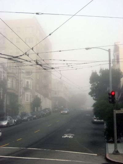 A Foggy Morning in San Francisco