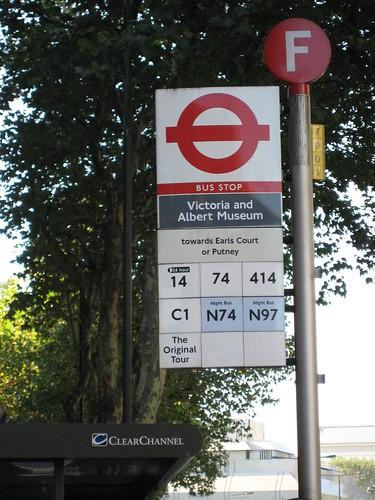 London Bus Stop