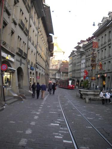 Foto de una calle de Berna