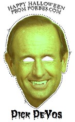 Dick Devos Halloween Mask!