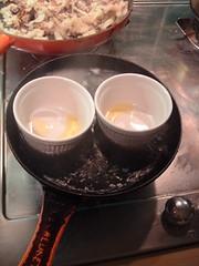 Eggs en concotte, with gravy 1