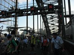 Lifts on the bridge