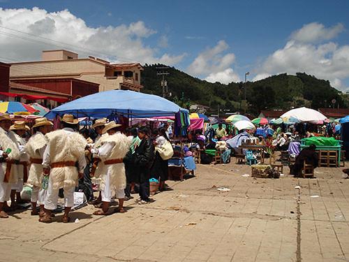 San Juan Chamula - 02 Chamula market