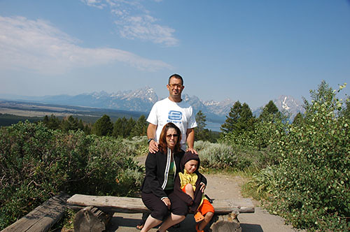 Grand Teton - View from Signal Mountain