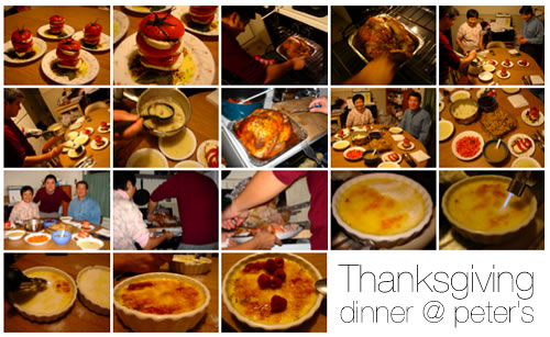 Thanksgiving Dinner @ Peter's
