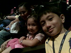 Alladin with my wife and kids