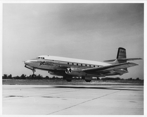 Avro XC-102 Jetliner - picture from author's collection
