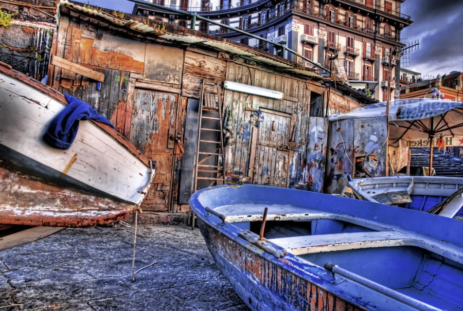 Napoli Fishing Shed