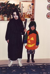 Chris and Sean Hallowe'en 1995