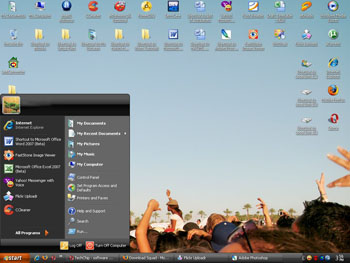 Zune Windows XP Theme