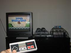 Jugant al Super Mario Bros 3