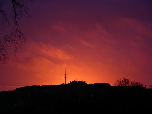 Dawn in Flames