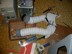 Robot costume - arms
