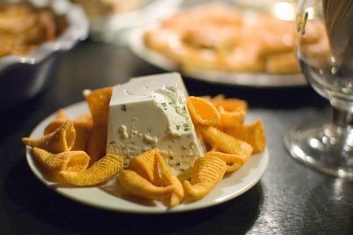 Bugles met kaas