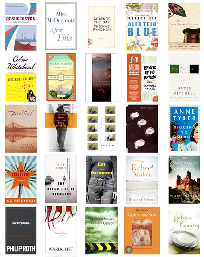 Coverbrowsing the NY Times Notable Books - Fiction (A to G)