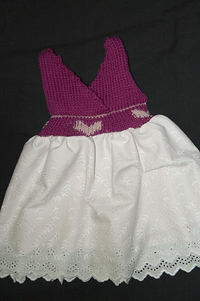Pink Heart Dress