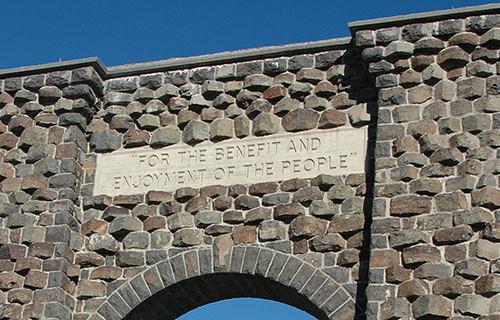 Yellowstone - Gateway - closeup