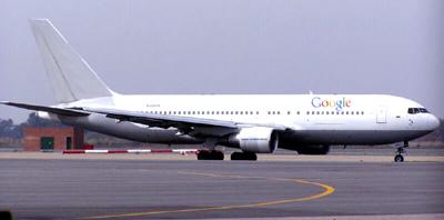Google Flugzeug