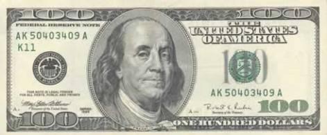 100 dólares