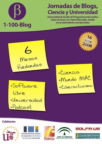 Cartel UniCienBlog
