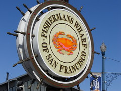 Welcome to Fishermans Wharf in San Francisco
