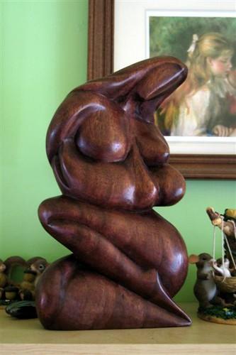 Sculpture that Gen gave me :)