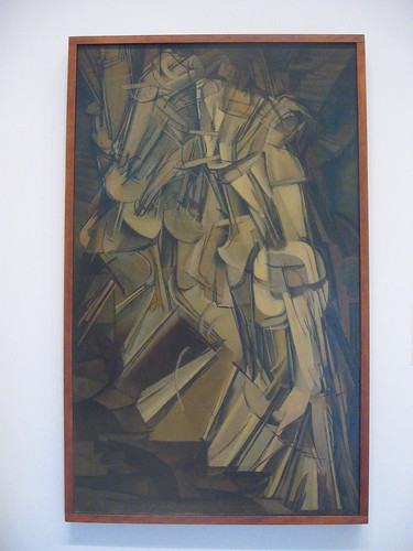 Nude Descending a Staircase - Duchamp