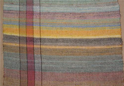 Echantillon de tissage - Weaving sample
