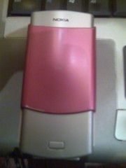 Pink Nokia N70, Back