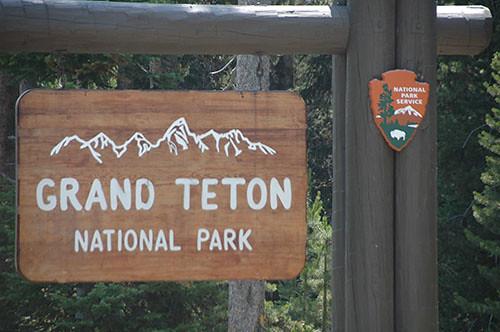 Grand Teton - Entering Grand Teton