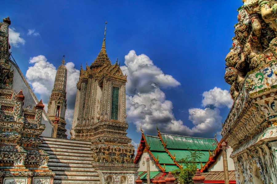 Temples in the Afternoon