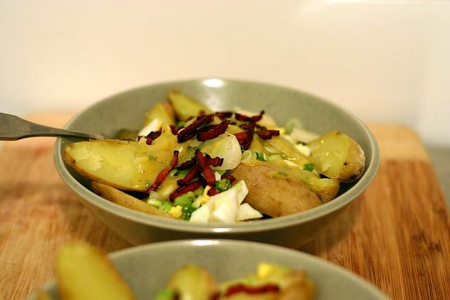 fingerling potato salad