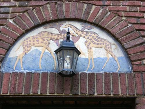 Giraffes On Gramercy Park